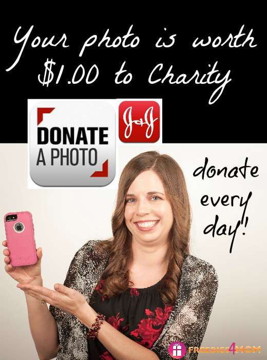 I've donated $77 for FREE with Donate a Photo App