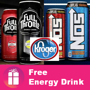Free NOS or Full Throttle at Kroger