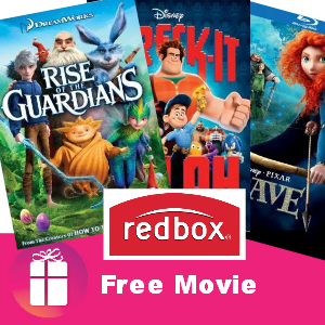 Freebie Redbox Movie *Aug. 5 Only*
