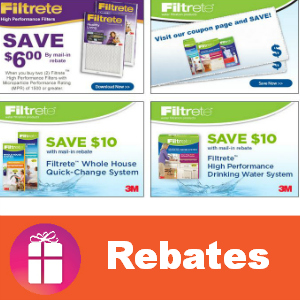 Rebate Save with Filtrete