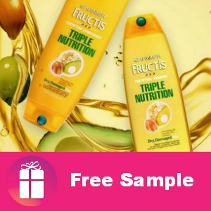 Freebie Garnier Triple Nutrition