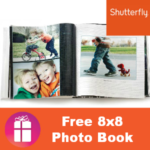 Free Shutterfly Photo Book ($23.99 value)