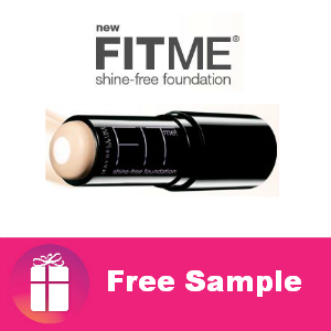 Free Sample Maybelline Fit Me