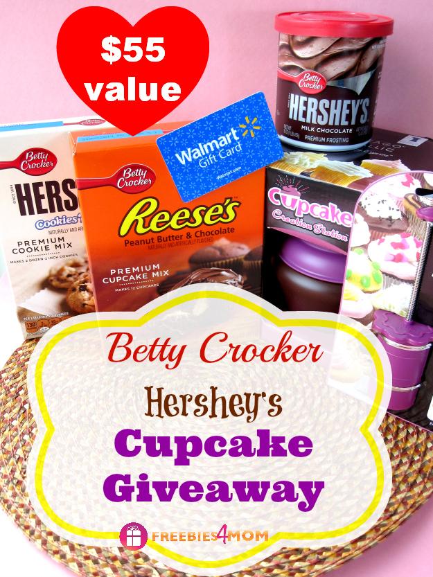 Betty Crocker Hershey's Cupcake Giveaway