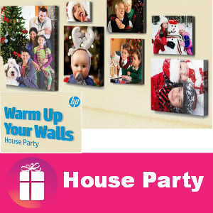 Free House Party: HP Warm Up Your Walls