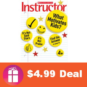 Deal $4.99 for Scholastic Instructor Magazine