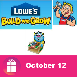 Free Spooky Stacker Game Oct. 12 at Lowe's