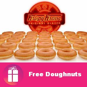 Free Doughnuts at Krispy Kreme Sept. 19