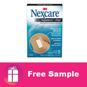 Free Sample Nexcare Tegaderm