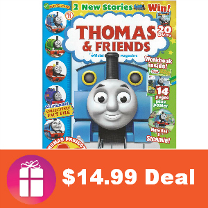 Deal $14.99 for Thomas & Friends Magazine