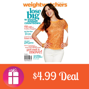 Deal $4.99 for Weight Watchers