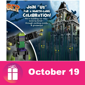 Free Lego Build at Toys R Us Oct. 19
