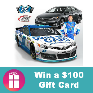 Sweeps Scott Brand Shared Values Win My Car