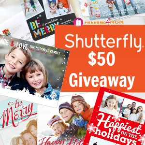 $50 Shutterfly Holiday Cards