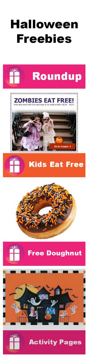 Halloween Freebie Roundup