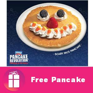 Free Halloween Pancake for Kids at IHOP