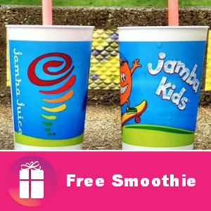 Free Jamba Kids Smoothies on Halloween