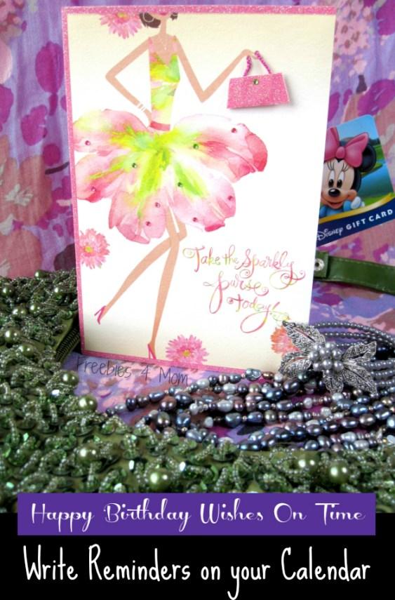 Send Happy Birthday Wishes On Time With Hallmark