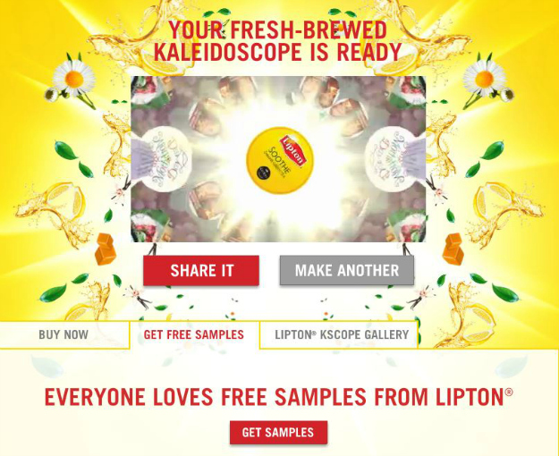 Free Samples Lipton K-Cup