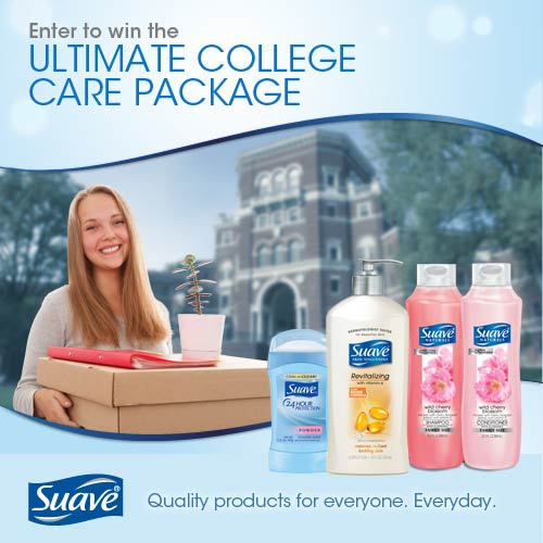 Suave Ultimate College Care Package
