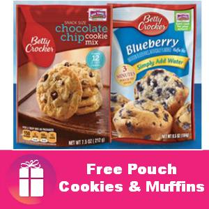 Free Betty Crocker Cookies & Muffins at Kroger