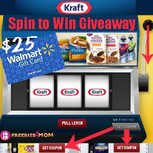 Kraft Spin to Win Winner