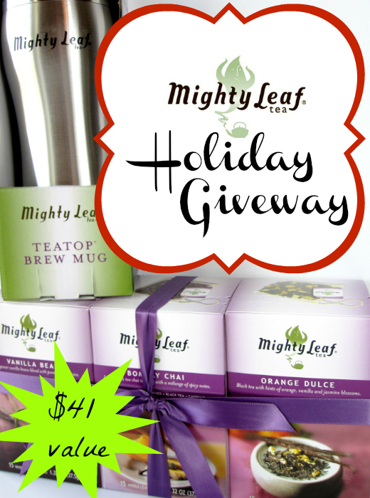 Mighty Leaf Tea Holiday Giveaway