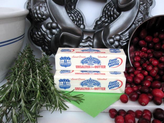 Butter for Pomegranate Rosemary Butter Cake #HolidayButter #shop