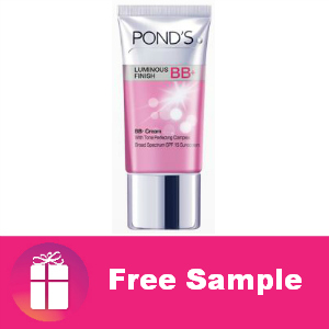 Free Sample Pond's BB+ Cream