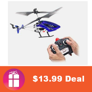 $13.99 RC Helicopter (83% Off)