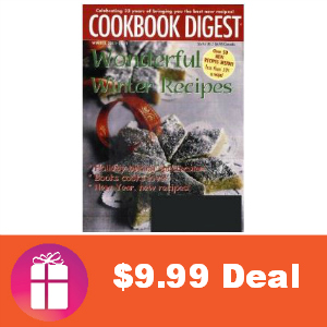 Deal $9.99 for Cookbook Digest Magazine