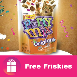 Free Friskies Treats at Kroger