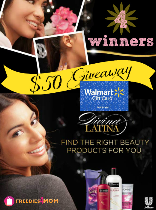 $50 Divina Latina Giveaway (4 winners)