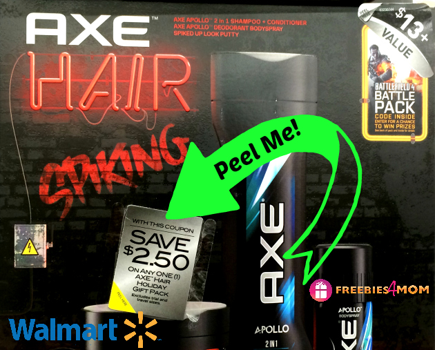 Axe Gift Packs $7.38 at Walmart