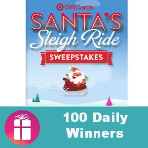 Sweeps Target Santa's Sleigh Ride