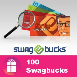 100 Swagbucks with code F4MBonus