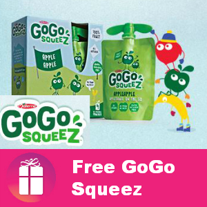 Free 4-pack GoGo Squeez