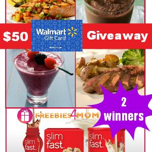 $50 Slimfast Giveaway Winners