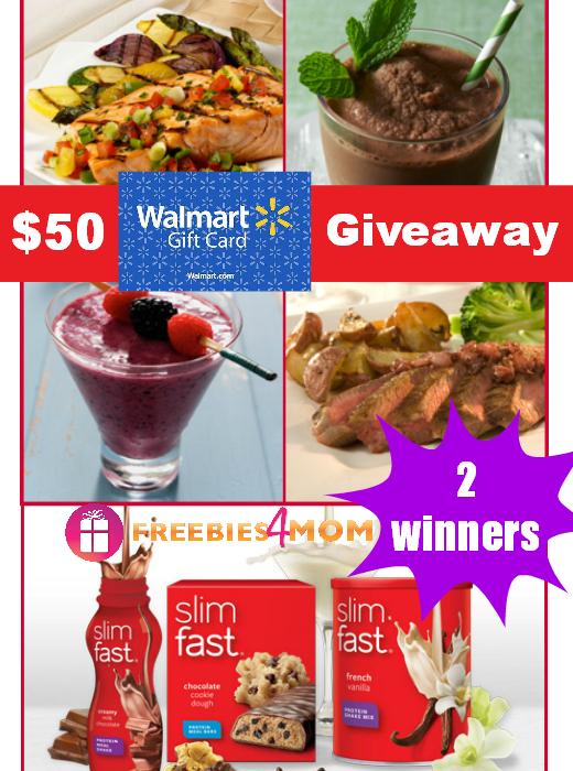 $50 Slimfast Giveaway