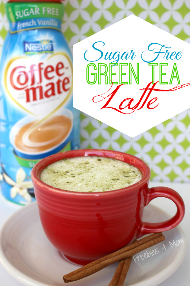 Sugar Free Green Tea Latte #WowThatsGood #shop