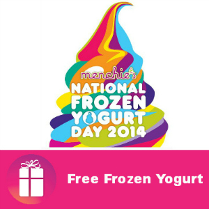Free Frozen Yogurt at Menchie's Feb. 6
