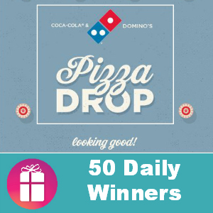 Sweeps Coca-Cola & Domino's Pizza Drop
