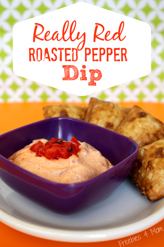 Really Red Roasted Pepper Dip #WowThatsGood #shop
