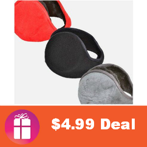 $4.99 2-Pack Earmuffs (was $19.99)