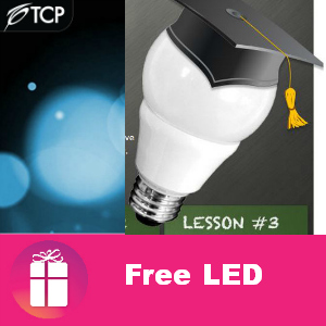 Free LED Light Bulb from TCP