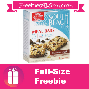 Free Box of South Beach Diet Bars