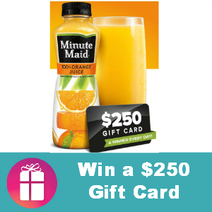 Sweeps Minute Maid Drink Your OJ
