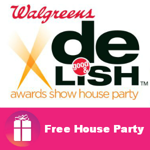 Free House Party: Walgreens Good & Delish