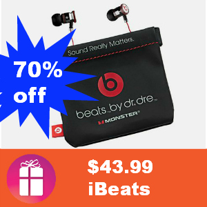 $43.99 iBeats by Dr. Dre