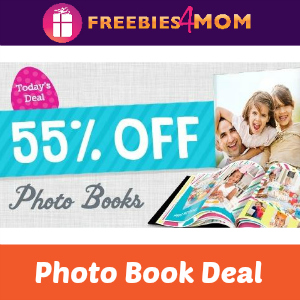 55% off Photo Books